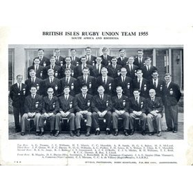 BRITISH LIONS (TOUR OF SOUTH AFRICA) 1955 SIGNED PHOTOGRAPH