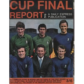CHELSEA V LEEDS UNITED 1970 (F.A. CUP FINAL REPORT) FOOTBALL PROGRAMME