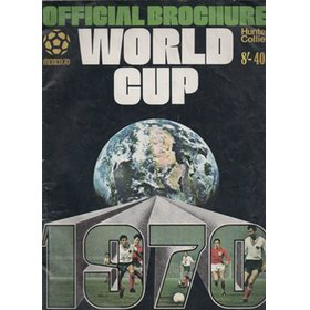 WORLD CUP 1970 OFFICIAL BROCHURE