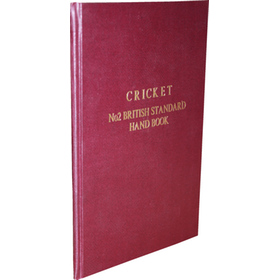 CRICKET - NO. 2 BRITISH STANDARD HAND BOOK