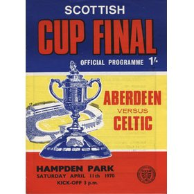 ABERDEEN V CELTIC 1970 (SCOTTISH CUP FINAL) FOOTBALL PROGRAMME