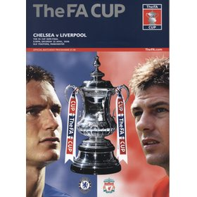 CHELSEA V LIVERPOOL 2006 (F.A. CUP SEMI-FINAL) FOOTBALL PROGRAMME
