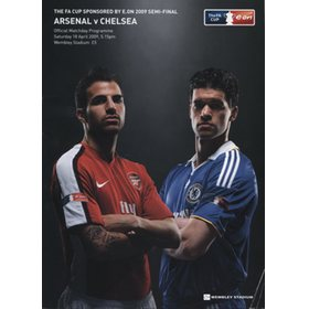 ARSENAL V CHELSEA 2009 (F.A. CUP SEMI-FINAL) FOOTBALL PROGRAMME
