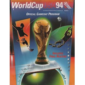 WORLD CUP 1994 (OFFICIAL GAMEDAY PROGRAMME)