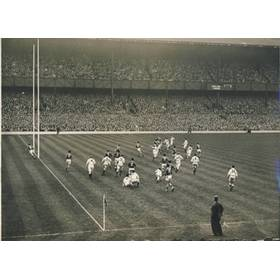 ENGLAND V FRANCE 1949 (PREECE DROP GOAL)