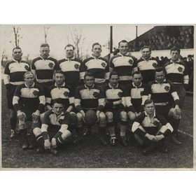 BARBARIANS 1936 (V EAST MIDLANDS) RUGBY PHOTOGRAPH