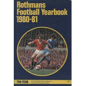 ROTHMANS FOOTBALL YEARBOOK 1980-81 (HARDBACK)