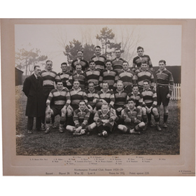 NORTHAMPTON RUGBY FOOTBALL CLUB 1928-29
