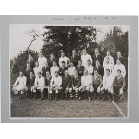 OXFORD UNIVERSITY RFC photograph ALBUM pages (1933-35)