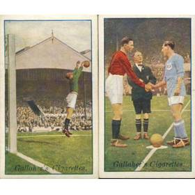 FOOTBALLERS IN ACTION 1927 (GALLAHER)