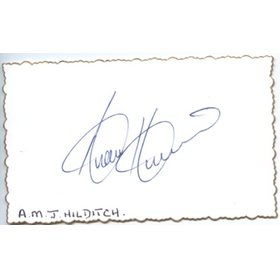 ANDREW HILDITCH CRICKET AUTOGRAPH