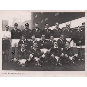 AUSTRALIA (V WALES) 1958 RUGBY PHOTOGRAPH