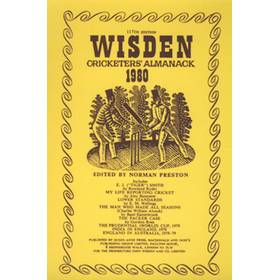 WISDEN REPLACEMENT DUST JACKET 1980