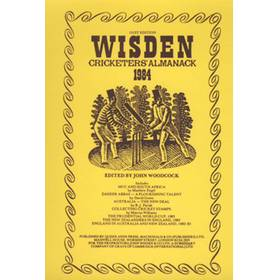 WISDEN REPLACEMENT DUST JACKET 1984