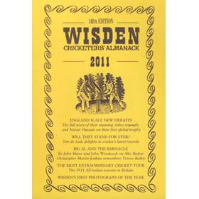 WISDEN TRADITIONAL-STYLE DUST JACKET 2011
