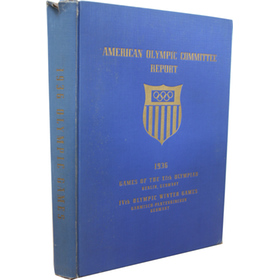 REPORT OF THE AMERICAN OLYMPIC COMMITTEE - BERLIN 1936