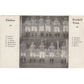 CHELSEA FC 1906 FOOTBALL POSTCARD