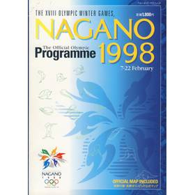 NAGANO OLYMPICS 1998 (OFFICIAL PROGRAMME)