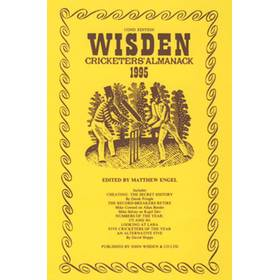 WISDEN REPLACEMENT DUST JACKET 1995