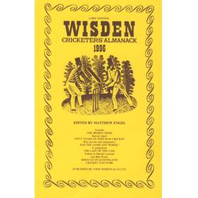 WISDEN REPLACEMENT DUST JACKET 1996