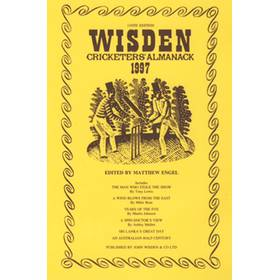 WISDEN REPLACEMENT DUST JACKET 1997