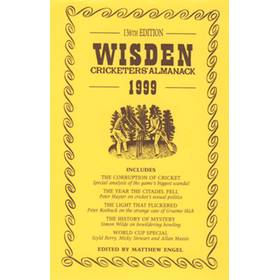 WISDEN REPLACEMENT DUST JACKET 1999