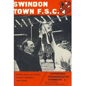 SWINDON TOWN FOOTBALL SUPPORTERS CLUB HANDBOOK 1968-69