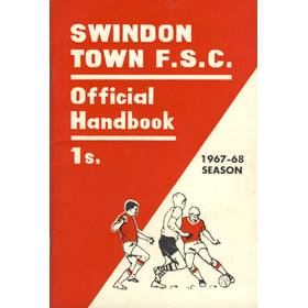 SWINDON TOWN FOOTBALL SUPPORTERS CLUB HANDBOOK 1967-68