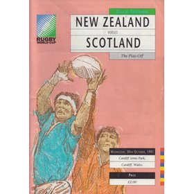 NEW ZEALAND V SCOTLAND 1991 (WORLD CUP PLAY OFF)