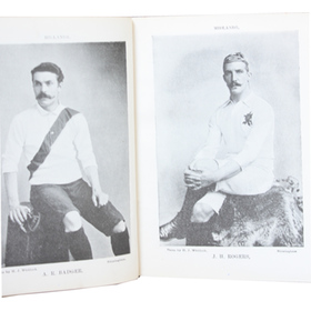 FAMOUS FOOTBALLERS C.1896-97 (CABINET SIZED EDITION)