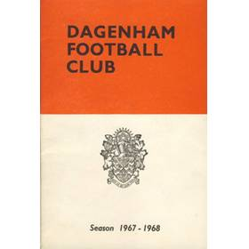 DAGENHAM FOOTBALL CLUB OFFICIAL HANDBOOK 1967-68