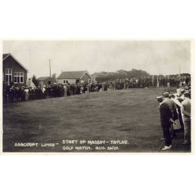 MASSEY - TAYLOR MATCH 1907 (SEACROFT LINKS)