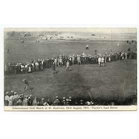 INTERNATIONAL GOLF MATCH AT ST ANDREWS 1905