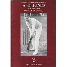 A.O.JONES: HIS RECORD INNINGS-BY-INNINGS