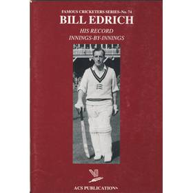 BILL EDRICH: HIS RECORD INNINGS-BY-INNINGS