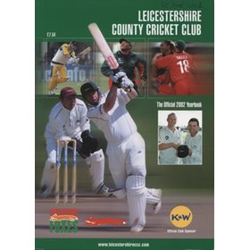 LEICESTERSHIRE COUNTY CRICKET CLUB 2002 YEAR BOOK