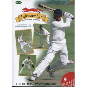 LEICESTERSHIRE COUNTY CRICKET CLUB 1998 YEAR BOOK