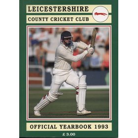 LEICESTERSHIRE COUNTY CRICKET CLUB 1993 YEAR BOOK