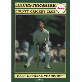 LEICESTERSHIRE COUNTY CRICKET CLUB 1990 YEAR BOOK