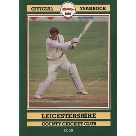 LEICESTERSHIRE COUNTY CRICKET CLUB 1989 YEAR BOOK
