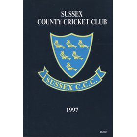 SUSSEX COUNTY CRICKET CLUB HANDBOOK 1997