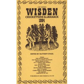 WISDEN REPLACEMENT DUST JACKET 1994