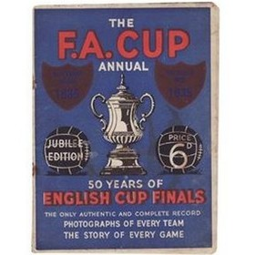 50 YEARS OF ENGLISH CUP FINALS 1885-1935