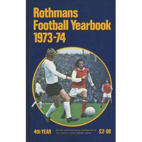 ROTHMANS FOOTBALL YEARBOOK 1973-74 (HARDBACK)