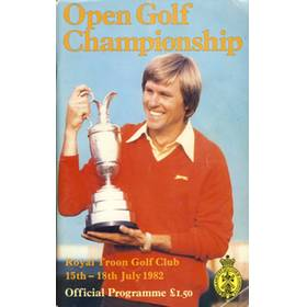 OPEN GOLF CHAMPIONSHIP 1982 (ROYAL TROON) PROGRAMME