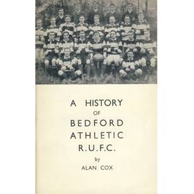 A HISTORY OF BEDFORD ATHLETIC R.U.F.C.
