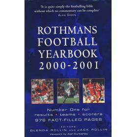 ROTHMANS FOOTBALL YEARBOOK 2000-2001 (HARDBACK)