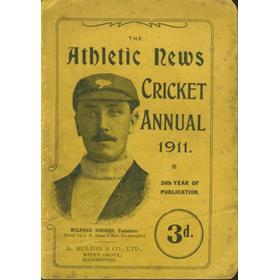 ATHLETIC NEWS CRICKET ANNUAL 1911