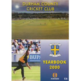 DURHAM COUNTY CRICKET CLUB YEARBOOK 2000