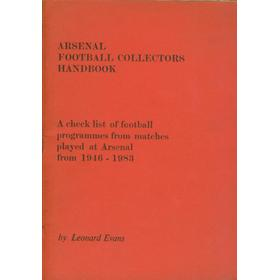 ARSENAL FOOTBALL COLLECTORS HANDBOOK